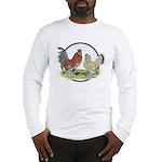 Belgian d'Uccle Bantams Long Sleeve T-Shirt