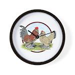 Belgian d'Uccle Bantams Wall Clock