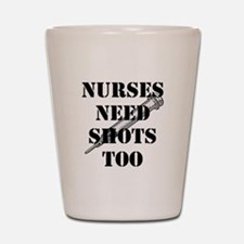 Cool Nurse shots Shot Glass