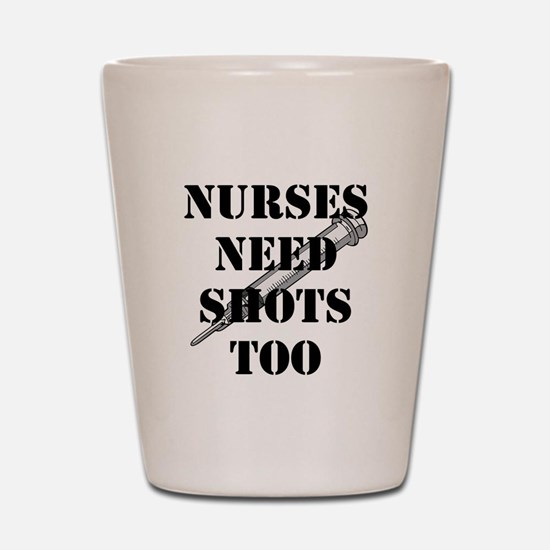 Unique Nurses Shot Glass