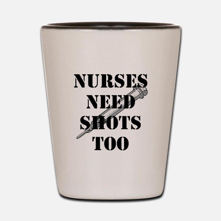 Cute Nurses Shot Glass