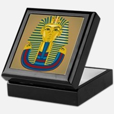 King Tut on Sand Keepsake Box