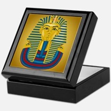 King Tut on Gold Keepsake Box