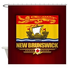 New Brunswick Flag Shower Curtain