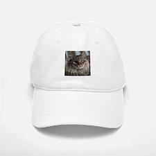 Siberian Tabby Cat face Baseball Baseball Baseball Cap