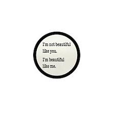 Beautiful Like Me Mini Button (10 pack)