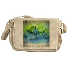 Landscape Trees and Water Hold Messenger Bag
