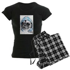 Timmy the Pampered Pug Pajamas