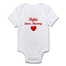 Rylee Loves Mommy Infant Bodysuit