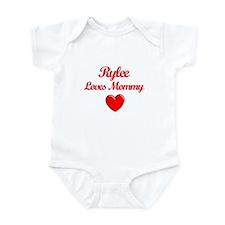 Rylee Loves Mommy Onesie