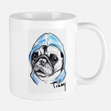 Timmy the Pampered Pug Mugs