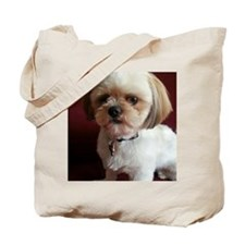Rescue pup Tote Bag