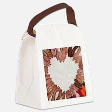 Cute Teamwork Canvas Lunch Bag