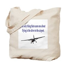 Drive to airport Tote Bag