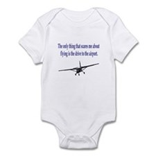 Drive to airport Infant Bodysuit