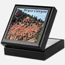 Bryce Canyon, Utah, USA 7 (caption) Keepsake Box