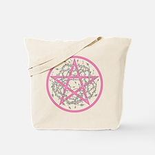 Pentagram with Thorny Vines Tote Bag