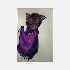 Cute Bat Rectangle Magnet
