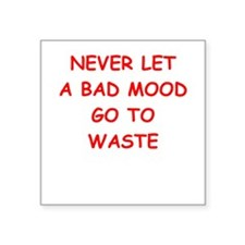 bad mood Sticker