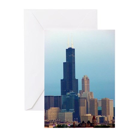 Sears Tower 2 Greeting Cards (Pk of 10)