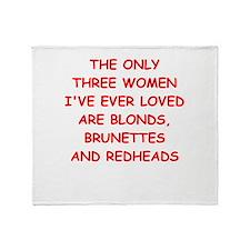 ladies man Throw Blanket
