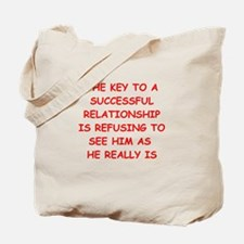 relationship Tote Bag