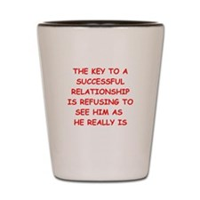 relationship Shot Glass