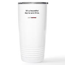 It's a beautiful day Travel Mug