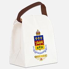 Quebec COA Canvas Lunch Bag