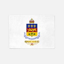 Quebec COA 5'x7'Area Rug