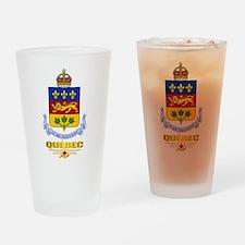 Quebec COA Drinking Glass