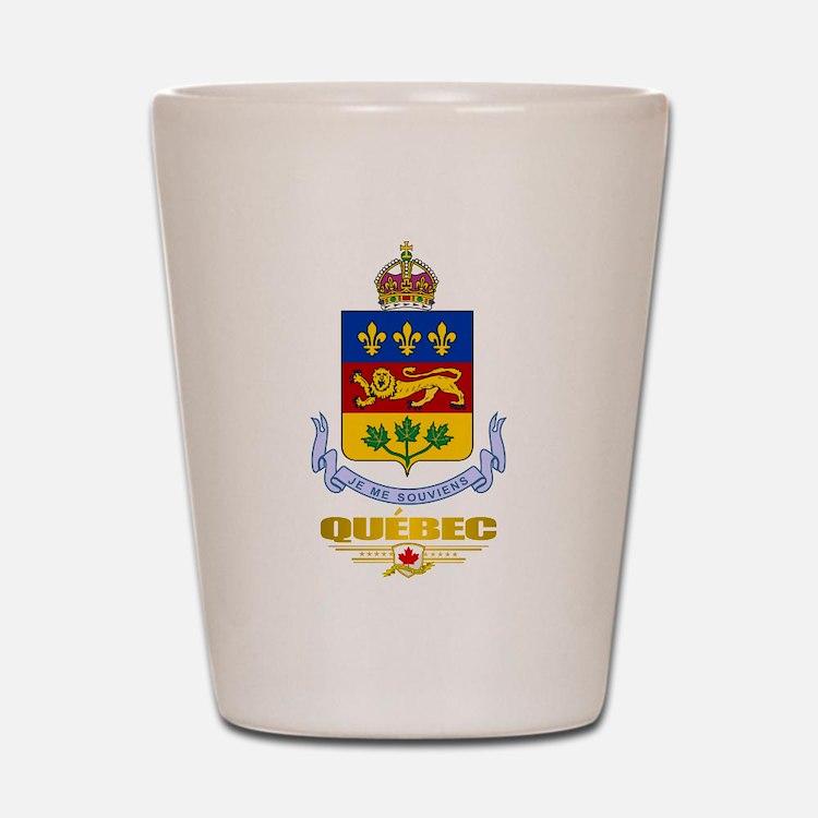 Quebec COA Shot Glass