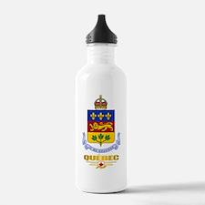 Quebec COA Water Bottle