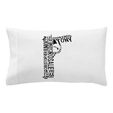 Sopranos Text Pillow Case
