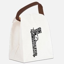 Sopranos Text Canvas Lunch Bag