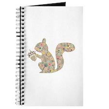floral squirrel Journal