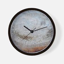 Cherry Tree Stump Wall Clock