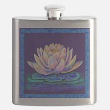 lotus blossum Flask