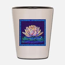 lotus blossum Shot Glass