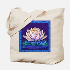 lotus blossum Tote Bag