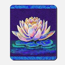 lotus blossum Mousepad