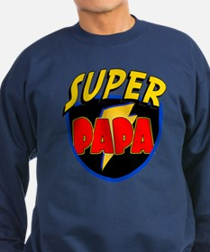 Super Papa Sweatshirt (dark)