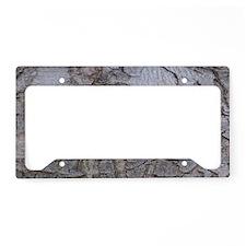 Tree Bark License Plate Holder