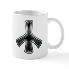 Deep Stainless Peace Mug