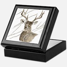 Brown Deer Keepsake Box