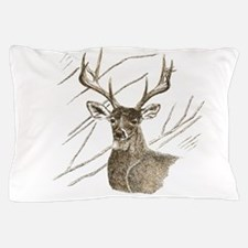 Brown Deer Pillow Case