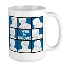 I Want To Believe Mugs