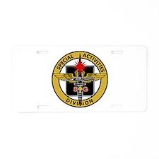 SOG - SAD Diver Aluminum License Plate