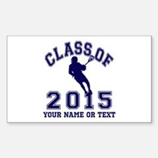 Class of 2015 Lacrosse Decal