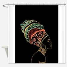 Funny Beautiful africa Shower Curtain